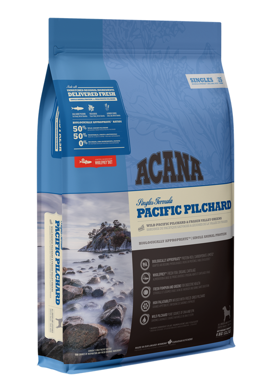 ACANA Singles   Pacific Pillchard  (All Stages) 11.4kg