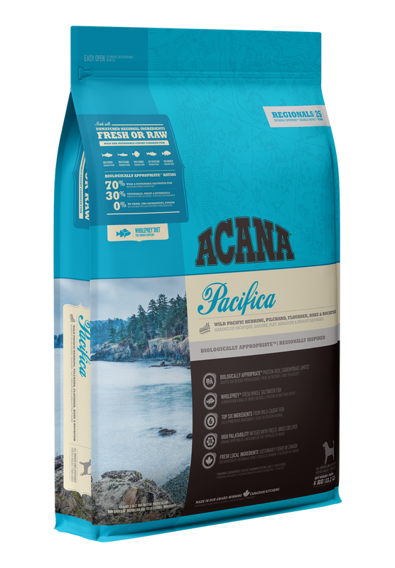 ACANA Regionals  Pacifica Dog  (All Stages) 2kg