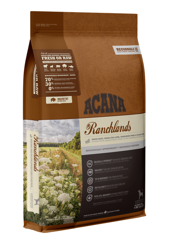 ACANA Regionals  Ranchlands Dog  (All Stages) 11.4kg