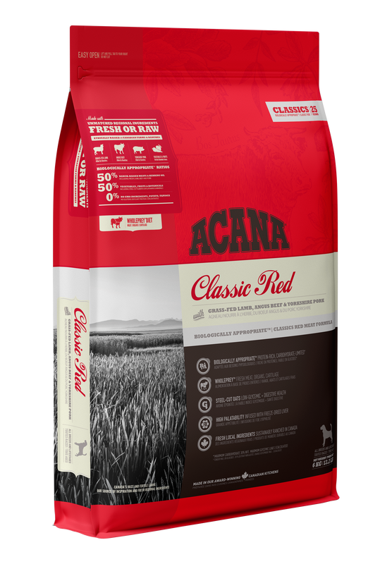ACANA Classics  Classic Red  (All Stages) 11.4kg
