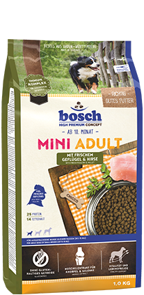 BOSCH  Mini Adult Poultry and Millet 3kg