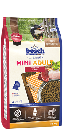 BOSCH  Mini Adult Lamb and Rice 3kg