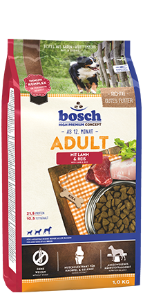 BOSCH  Adult Lamb and Rice 15kg