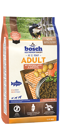 BOSCH  Adult Salmon and Potato 15kg