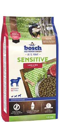 BOSCH  Sensitive Lamb and Rice 15kg