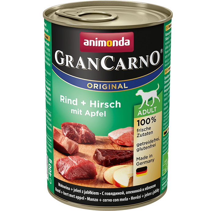 ANIMONDA Gran Carno Adult Deer with Apple 800g