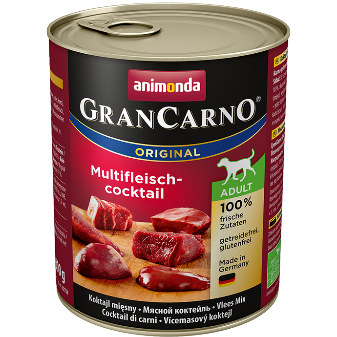 ANIMONDA Gran Carno Adult Multi-Meat Cocktail 800g