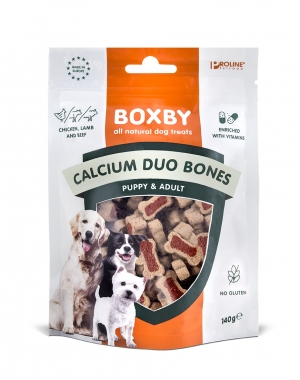 PROLINE Boxby Puppy Calcium Bones 140g