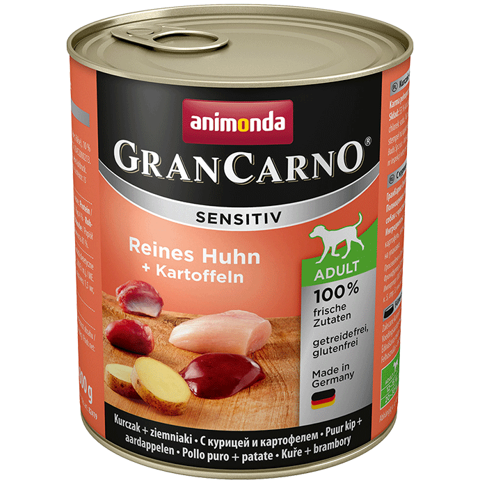 ANIMONDA Gran Carno Sensitive Pure Chicken 800g