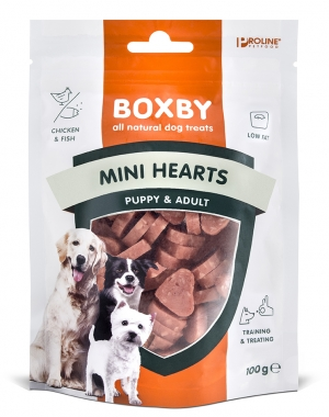 PROLINE Boxby Mini Hearts 100g