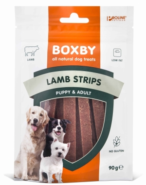 PROLINE Boxby Lamb Strips 90g
