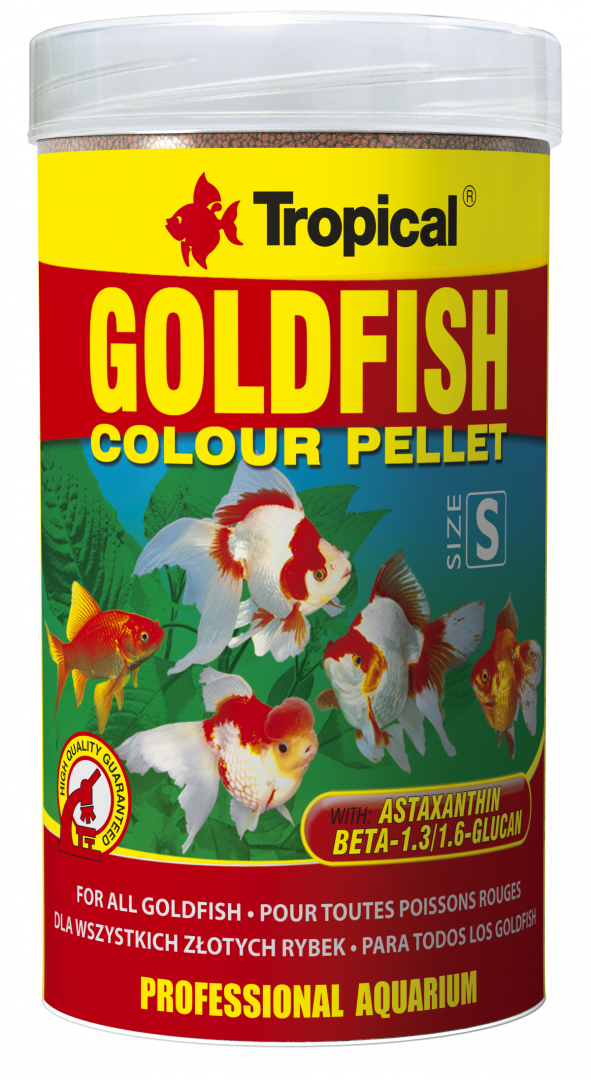 Tropical Goldfish Pellet 1000ml