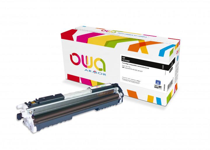 Owa Armor - HP 30X (CF230X) Compatible Laser Toner 3500pages Black toner Catridge