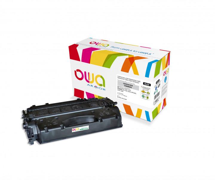 Owa Armor - HP 05X (CE505X) Compatible Laser Toner 6500pages Black toner Catridge
