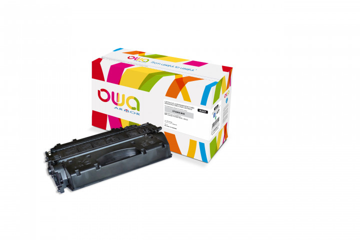 Owa Armor - HP 80X (CF280X) Compatible Laser Toner 6900pages Black toner Catridge