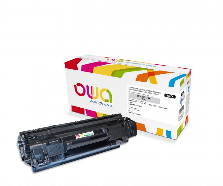 Owa Armor - HP 78A (CE278A) Compatible Laser Toner 2100pages Black toner Catridge