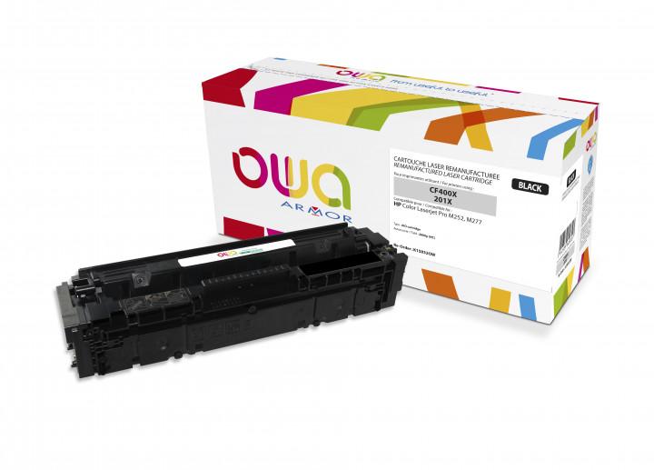 Owa Armor - HP 201X (CF400X) Compatible Laser Toner 2800pages Black toner Catridge