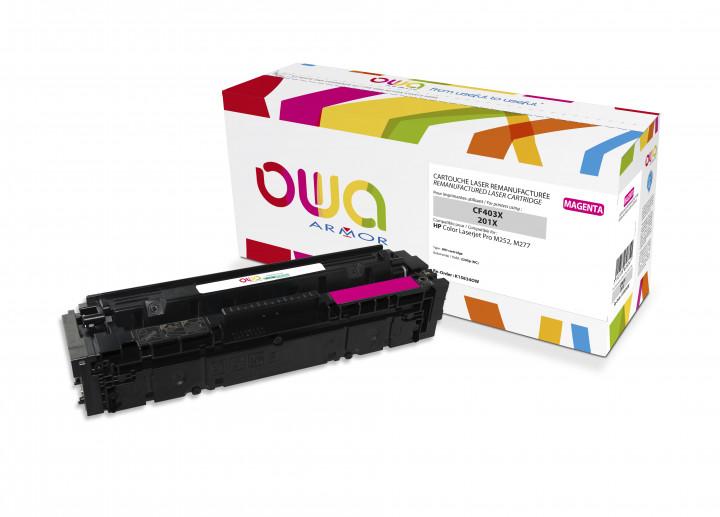 Owa Armor - HP 201X (CF403X) Compatible Laser Toner 2300pages Magenta toner Catridge
