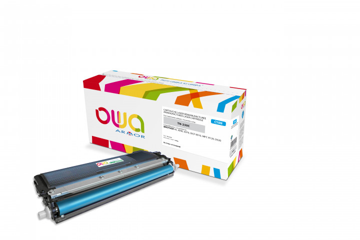 Owa Armor - BROTHER TN-230C Compatible Laser Toner 1400pages Cyan toner Catridge