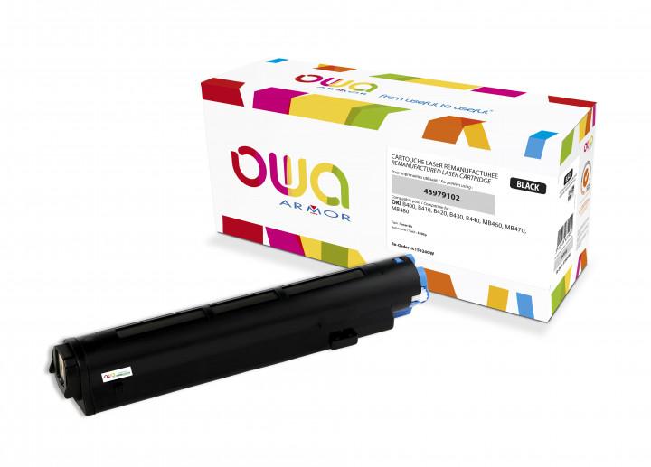 Owa Armor - OKI  43979102 Compatible Laser Toner 3500pages Black toner Catridge