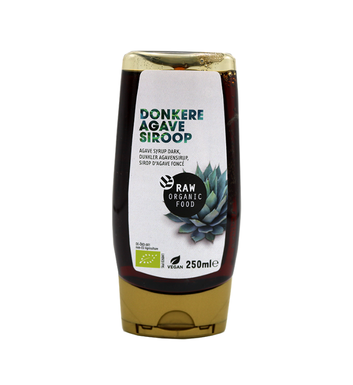 Raw Organic Food Agave syrup dark (RAW) 250ml