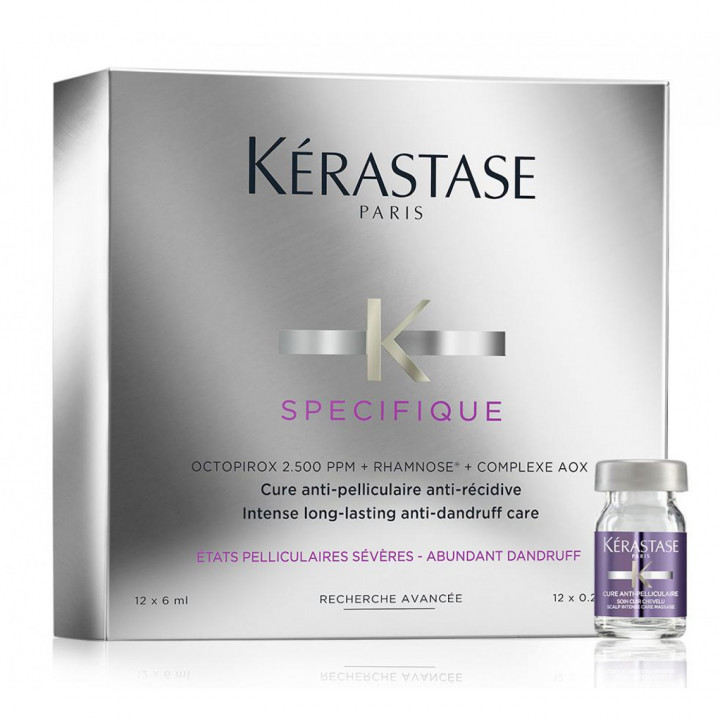 Kérastase - CURE ANTIPELLICULAIRE INTENSIVE - 12*6 ML