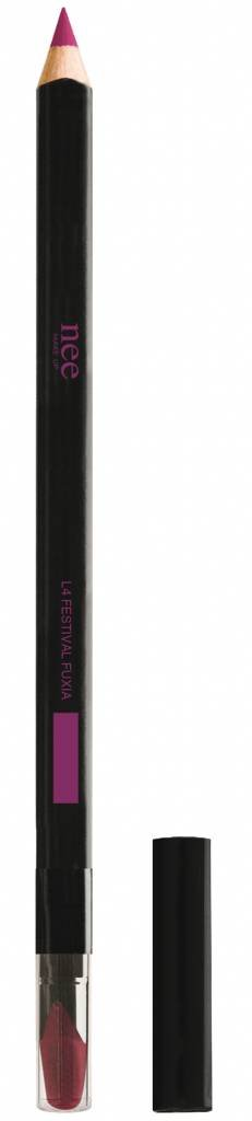 Nee lip pencil high definition - Festive fuxia No.L4