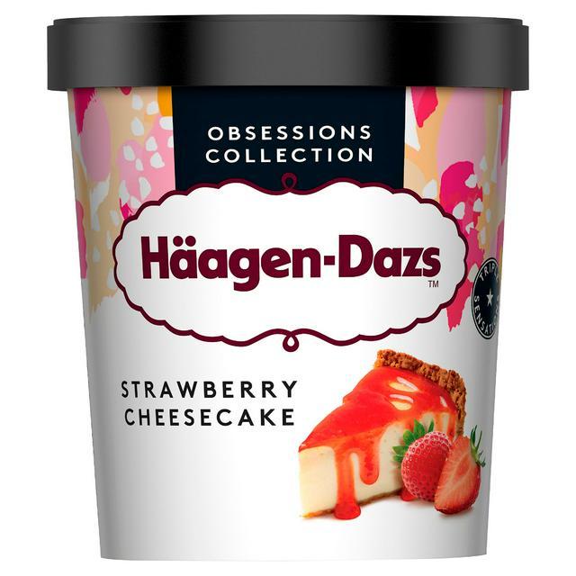 Haagen Dazs Strawberry Cheescake 460ml