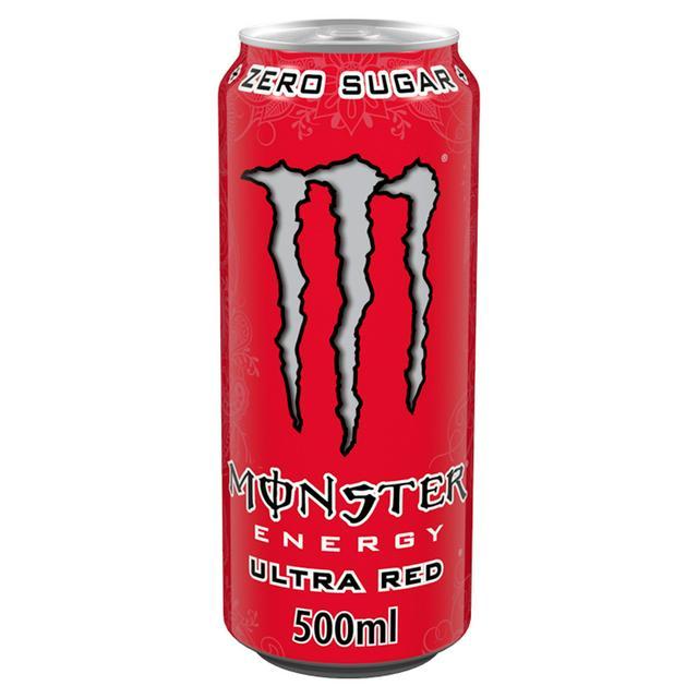 Monster 500ml - Ultra Red