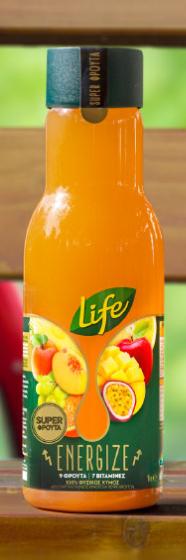 Life Juice 400ml - Energy 9 fruits