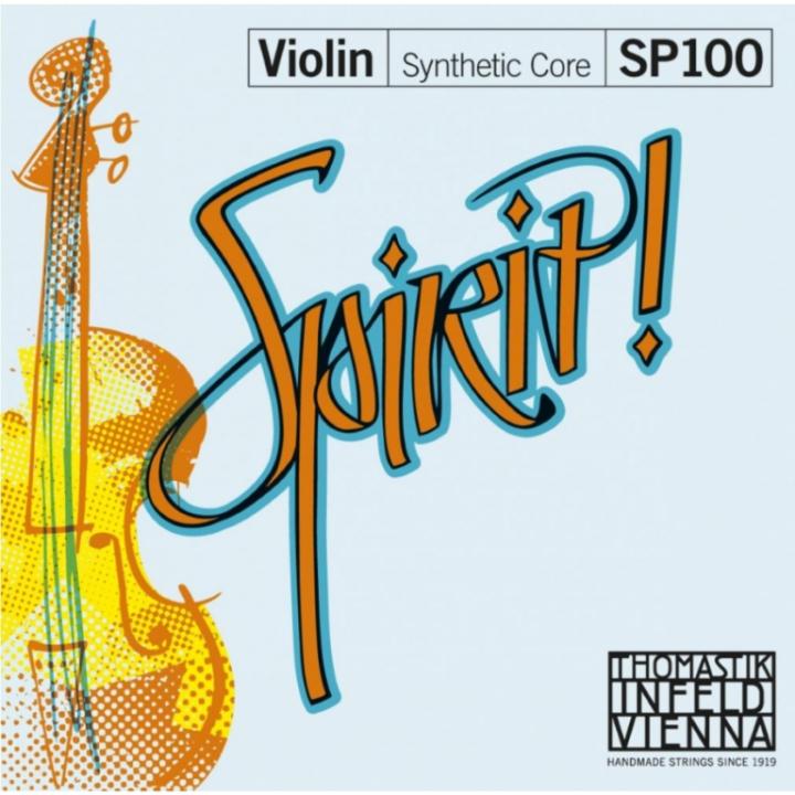 Thomastik Spirit Violin Strings Set - Medium Tension - Size 4/4