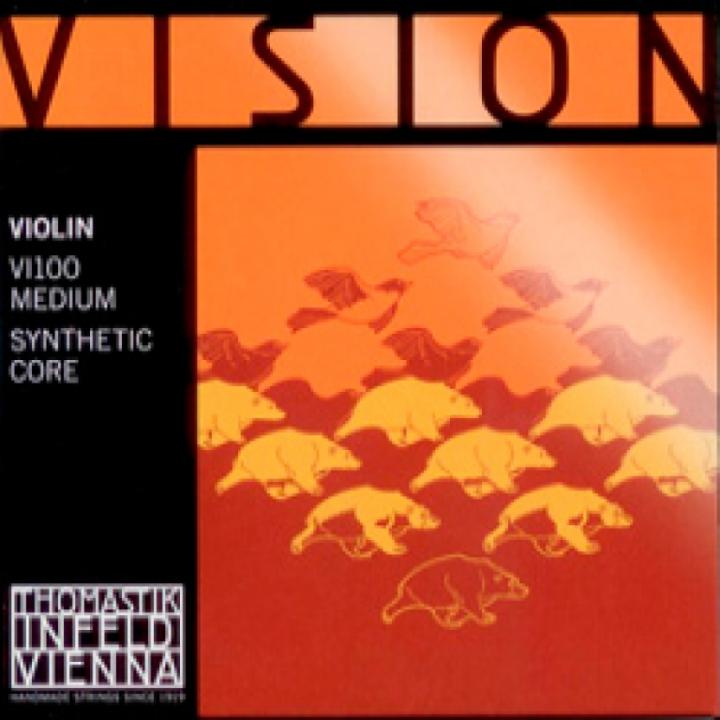 Thomastik Vision Violin Strings Set - Medium Tension - Size 4/4