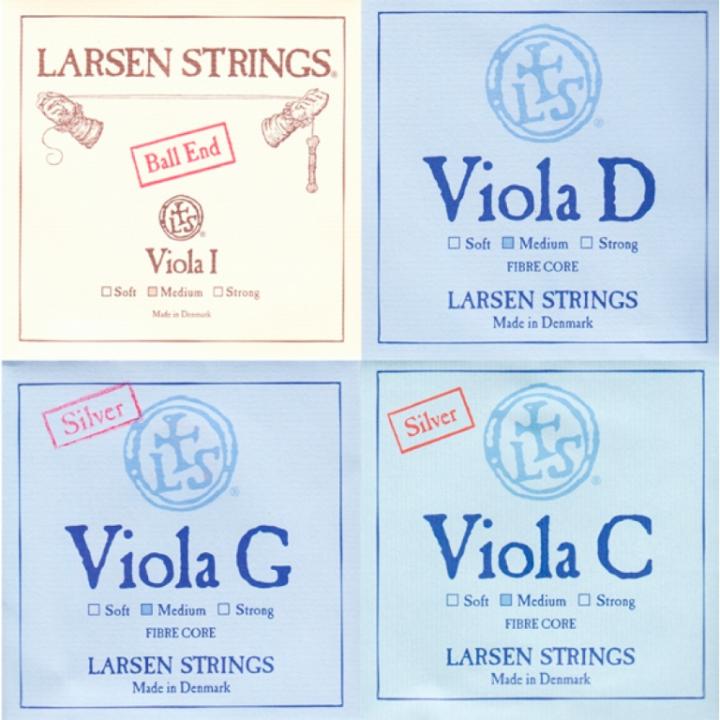 Larsen Viola Strings Set - Medium Tension - Size 4/4