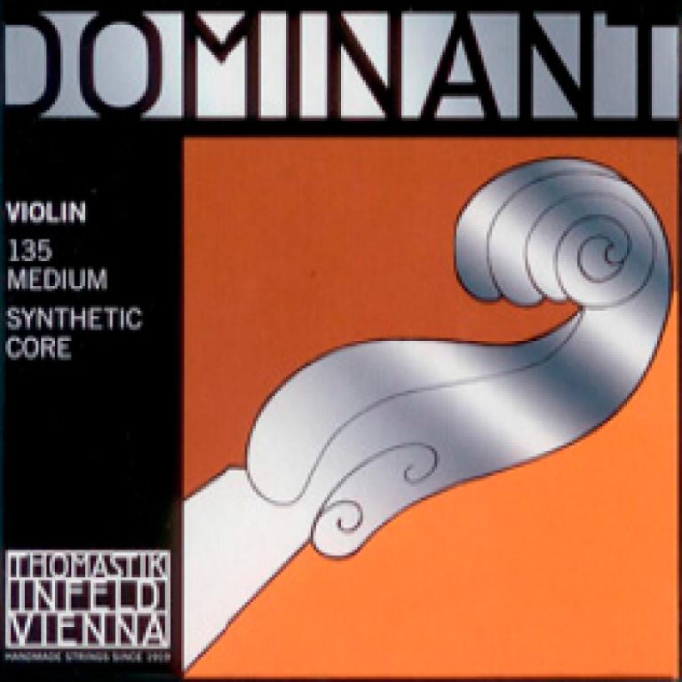 Thomastik Dominant Violin Strings Set - Medium Tension - Size 1/2