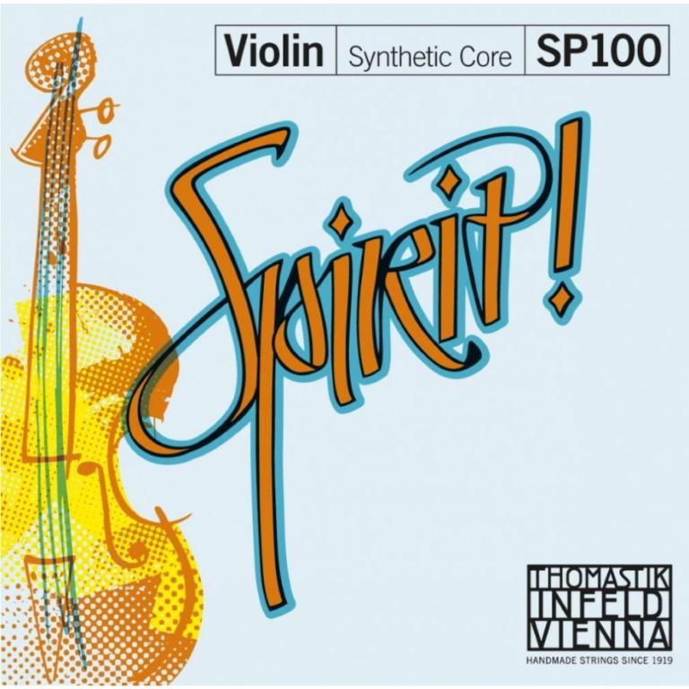 Thomastik Spirit Violin Strings Set - Medium Tension - Size 1/2