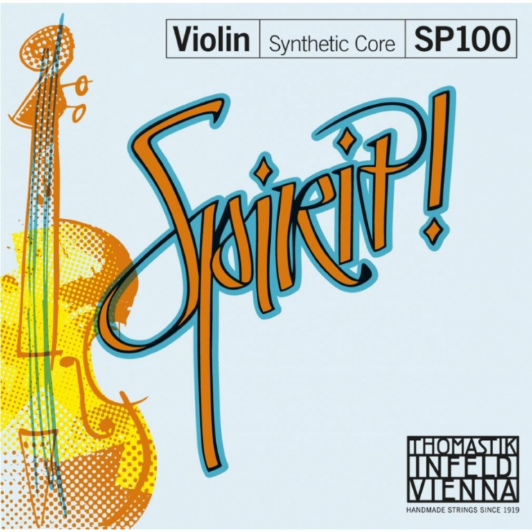 Thomastik Spirit Violin Strings Set - Medium Tension - Size 1/4