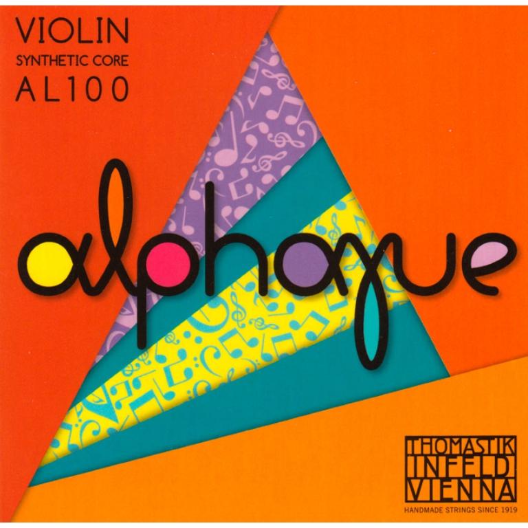 Thomastik Alphayue Violin Strings Set - Medium Tension - Size 1/8