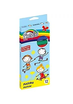 Plasticine Fiorello 12 colors