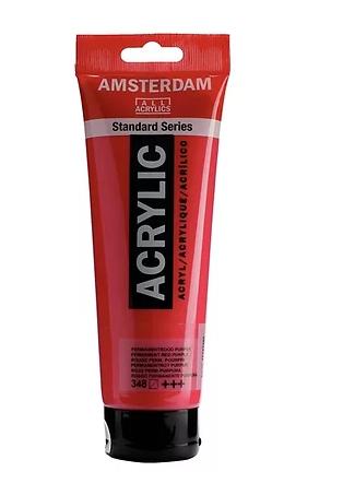 Amsterdam Acrylic Paint 120ml Permanent Red Purple