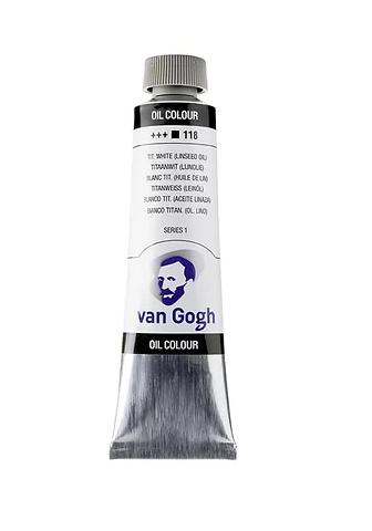 Van Gogh Oil Colour 40 ml Titanium White (Linseed Oil) 118