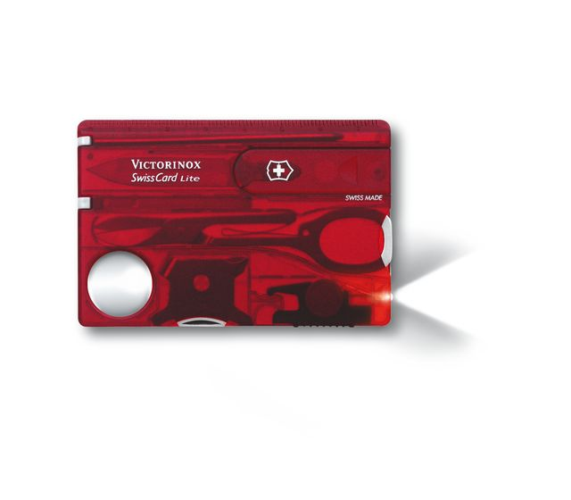 SWISS CARD LITE RED