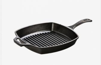 Cast Iron Grill Pan - 26.67cm