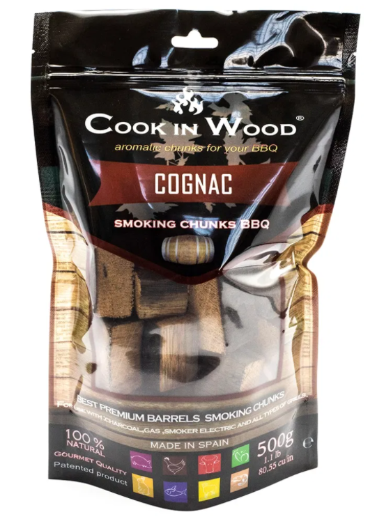Cook in Wood Chunks (Ideal for Charcoal Barbecues or Smokers) - 500g