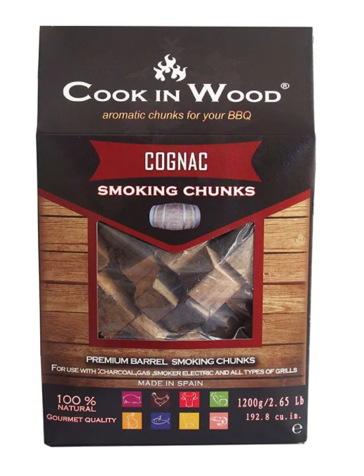 Cook in Wood Chunks (Ideal for Charcoal Barbecues or Smokers) - 1200g