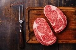 Wagyu Grade 6/7 Rib Eye Steak 350g