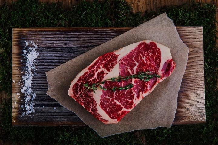 Australian Black Angus Rib Eye Steak 350g