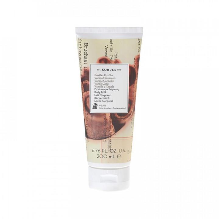Korres Vanilla Cinnamon Body Milk 200ml