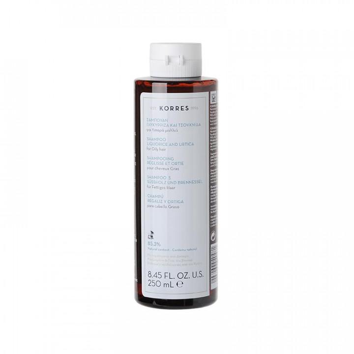 Korres Urtica & Liquorice Shampoo for Oily Hair 250ml