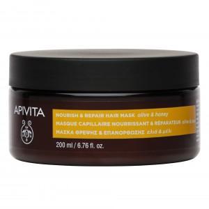 Apivita Nourish & Repair Hair Mask 200ml