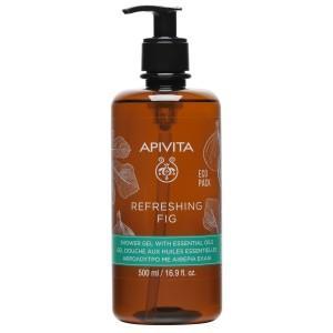 Apivita Refreshing Fig Shower Gel 500ml
